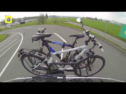TCS test de porte-vélos pour voiture