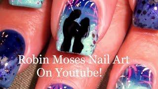 Fun Nails!!! Diy Romantic Firework Nail Tutorial | 4th Of July Nail Art Design