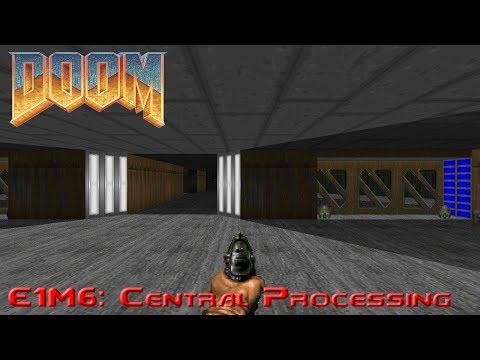 Ultimate Doom - E1M6: Central Processing  