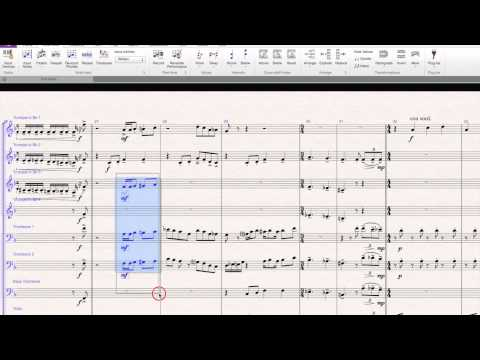 Sibelius 7 -Copy & Paste Articulations