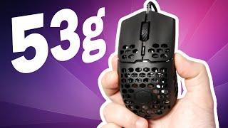 No. Éste es el mouse más ligero (Cooler Master MM710)