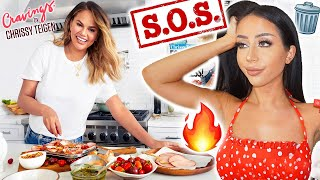 I TRY COOKING CHRISSY TEIGEN'S RECIPES! (a mess lol)