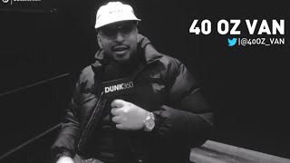 Gambar cover 40oz VAN Opens Up About A$AP Yams, Music, & Fashion at AGENDA show NYC 2015!