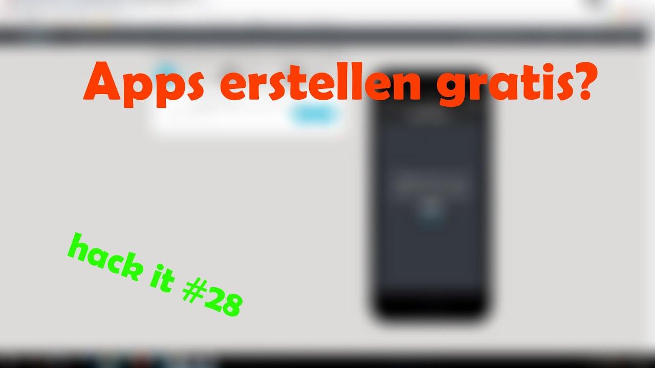 apps erstellen ist es gratis diy como com erkla¤rung hack it 28