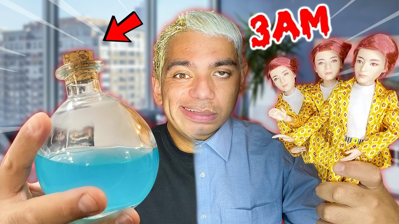 ORDERING THE BTS POTION FROM THE DARK WEB AT 3AM!! (SCARY)