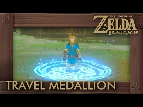 Zelda Breath of the Wild - Travel Medallion Location