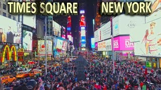 Times Square, New York - Day & Night 4K