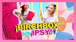 JUGANDO COMO NIÑAS CHIQUITAS! | BIRCHBOX VS IPSY! {MAYO 2017} thumbnail