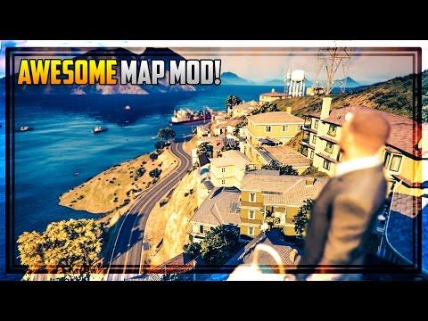 EUROPE TOWN IN GTA 5! (GTA Map Mod)