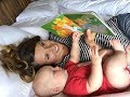 Never to early to read to your baby