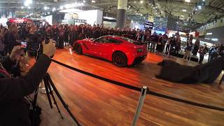 2019 Corvette ZR1 Reveal Canada International Auto Show 4K