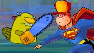 БОЛОТНАЯ Атака #2 Мультик Игра для детей БОЛОТНАЯ БИТВА Swamp Attack #КРУТИЛКИНЫ #КИД