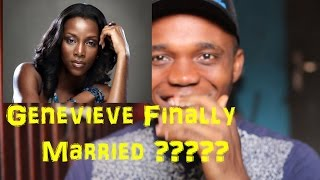 Genevieve Nnaji Finally Gets Married ?