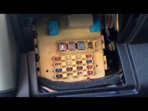 2005 Scion Xa Fuse Box Location - YouTubeYouTube