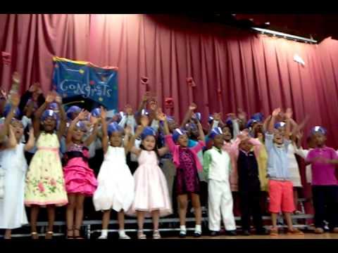 Hebbville Elementary School Kindergarten Farewell 2013 - The World is a Rainbow