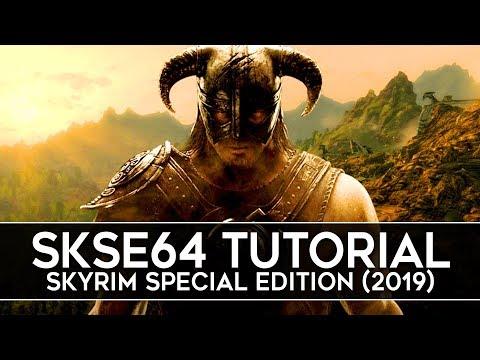 How To Install SKSE64 For Skyrim Special Edition (2019) - Script Extender V2.0.15
