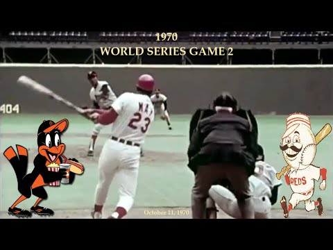 1970 World Series Game 2 (Reds vs Orioles - Radio, TV, Documentary -  Condensed & Edited w/ Music) - YouTube