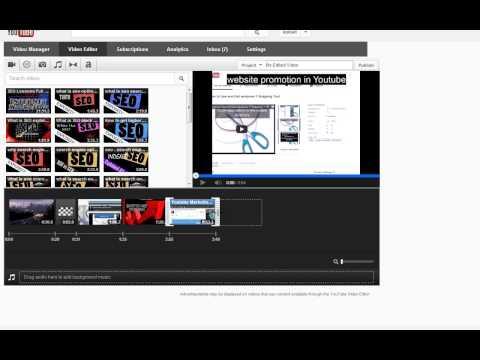 Youtube Video Editor trim videos