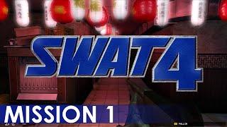SWAT 4 - Playthrough (Mission 1)