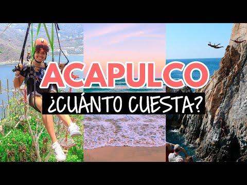 ¿Cuánto cuesta viajar a Acapulco?