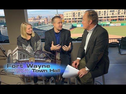 Fort Wayne Town Hall: The Fort Wayne TinCaps