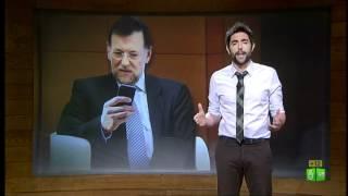 El Intermedio. Las opciones de SMS que Mariano Rajoy descartó para enviarle a Luis de Guindos