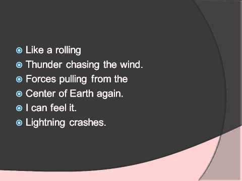 Lightning Crashes Live Lyrics