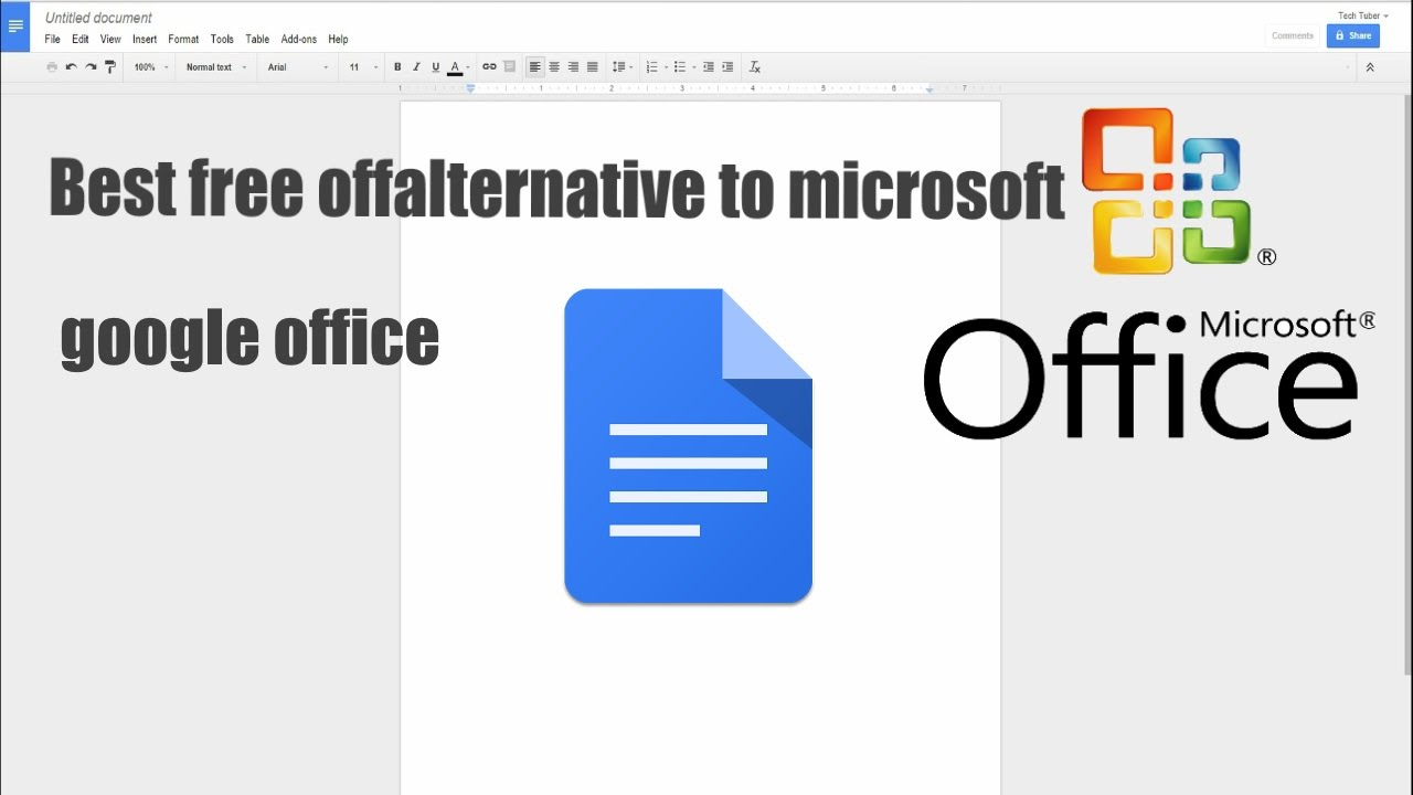 tech office alternative. What Is The Best Free Alternative To Microsoft Office Google Tech