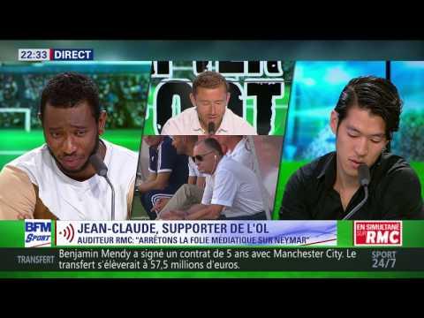 After Foot du lundi - 24/07 – Partie 6/7 - L'avis tranché d'Alpha Baldé sur Jean-Michel Aulas