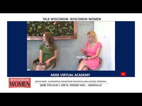 TVW | Talk Wisconsin: Wisconsin Women | Arise Virtual Academy | 7-2-20