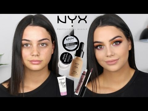 ONE BRAND TUTORIAL: NYX COSMETICS