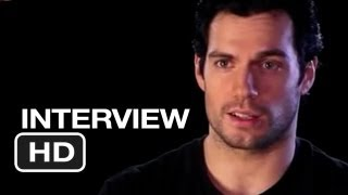 Man of steel cast interviews (2013) henry cavill, russell crowe movie hd