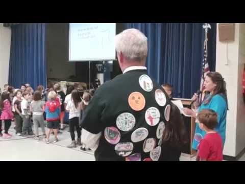International Dot Day at Warwick Neck School