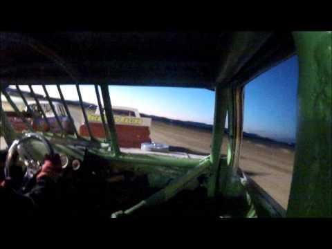 madras speedway mini truck in cab #59 dirt track race