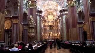 Melk, Lower Austria, Austria, 2009-09-18; メルク修道院の教会, オー...