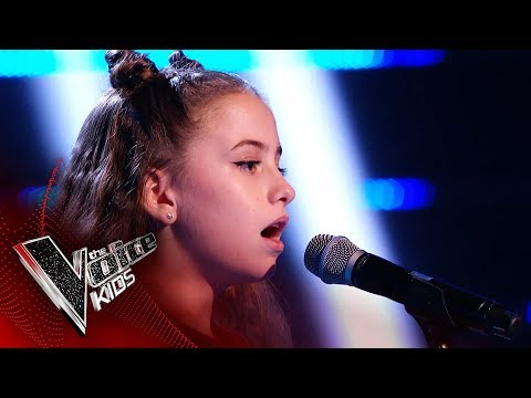 Martha Performs 'How Will I Know' | Blind Auditions | The Voice Kids UK 2019