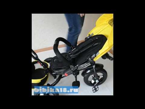 Сборка детского трехколесного велосипеда Lexus Trike Baby Comfort Air Maxi