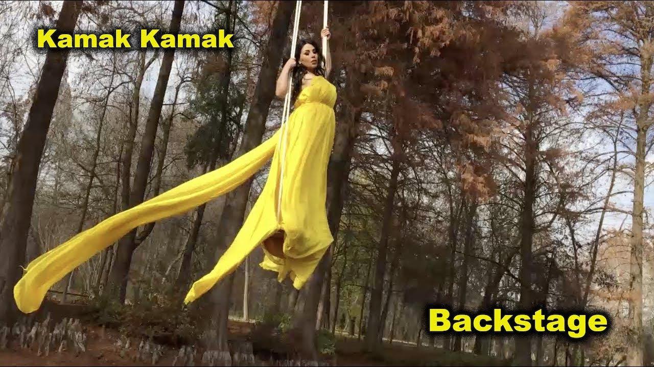 Aryana Sayeed -KAMAK KAMAK - Backstage / آریانا سعید - پشت صحنه آهنگ کمک کمک