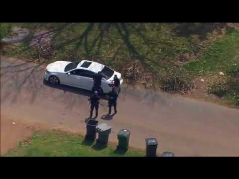 Shooting suspect chased by police into Gaston County