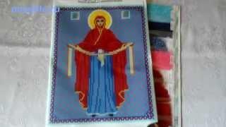 Набор Присвятая Богородица Покрова. Вышивка бисером. Обзор от mixstile.ru