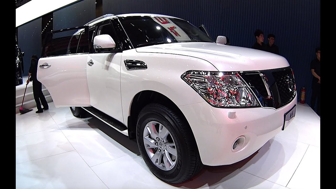 2016 2017 nissan patrol in china auto show nissan patrol 2016 2017 model youtube. Black Bedroom Furniture Sets. Home Design Ideas