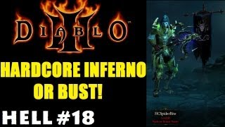 Holy Shit...WTF Happened There? (Hell): Diablo 3 Hardcore Inferno or Bust DH Solo (Part 18)