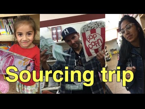 RAW - Goodwill Book Sourcing Trip W/ the FAM - in Hemet, CA - ride along