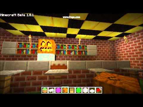 MineCraft ideas inside the house - YouTube