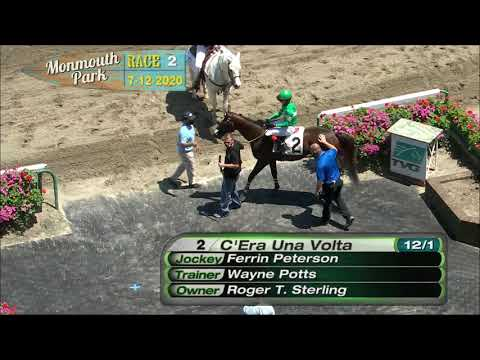video thumbnail for MONMOUTH PARK 07-12-20 RACE 2