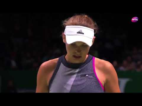 2017 WTA Finals Final | Shot of the Day | Caroline Wozniacki