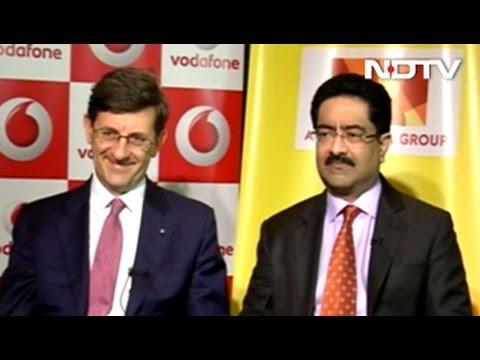 Kumar Mangalam Birla, Vittorio Colao Explain Vodafone- Idea Merger