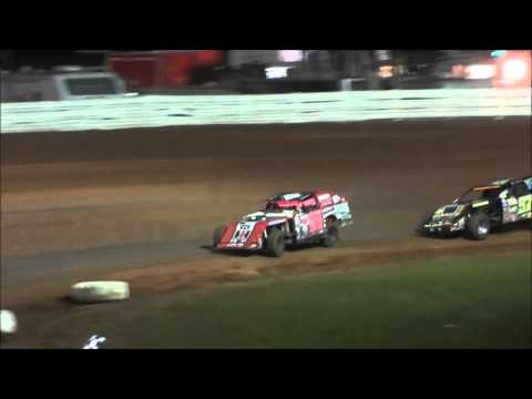 Ryan Adamzak ABC RACEWAY Red Clay Classic 2015 Midwest Modified Heat 1st Place