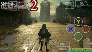 Game Keren Gans |atack On Titan 2  Android