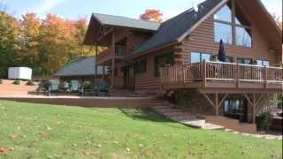 Spectacle Lake Log Home